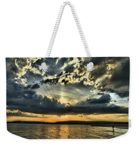 ... Never Walk Alone Weekender Tote Bag