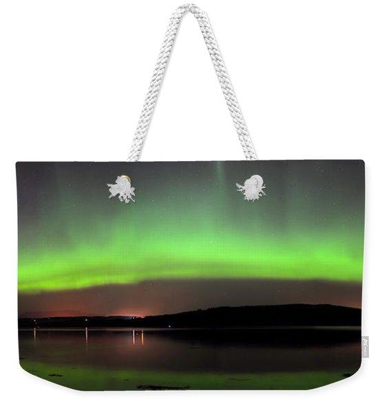 Northern Lights Weekender Tote Bag