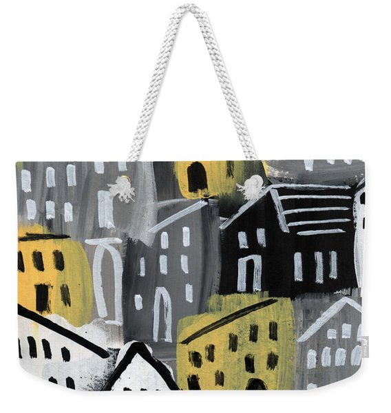 Rainy Day - Expressionist Art Weekender Tote Bag