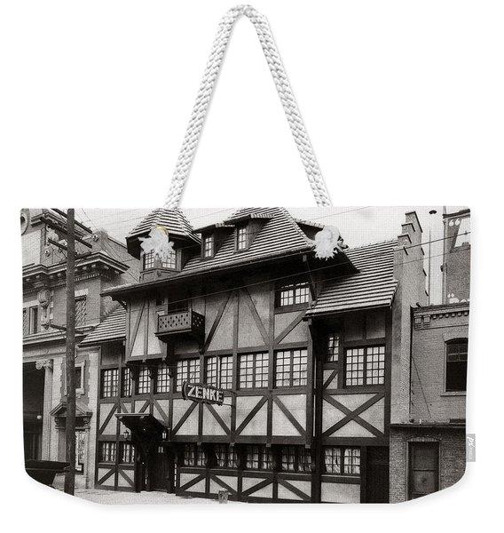 Scranton Pa Zenke's Alt Heidelberg Restaurant Early 1900s Weekender Tote Bag