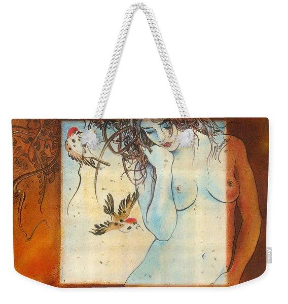 Slightly Censored Weekender Tote Bag