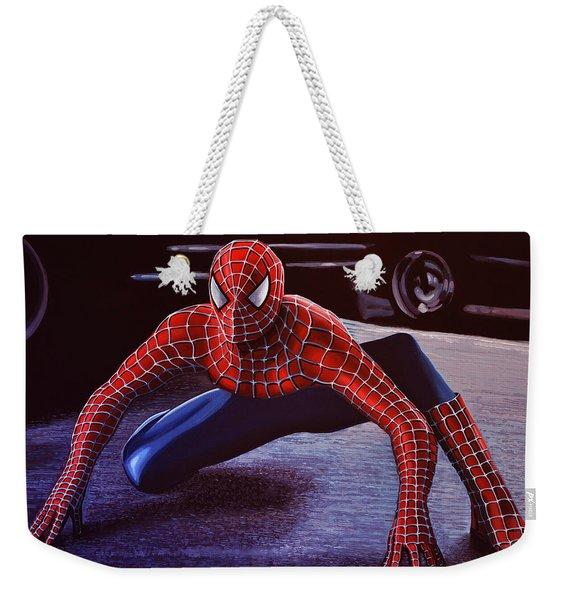 Spiderman 2  Weekender Tote Bag