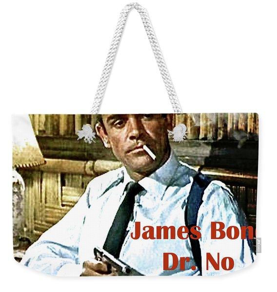 007, James Bond, Sean Connery, Dr No Weekender Tote Bag
