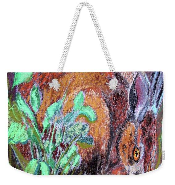 032917louisiana Swamp Rabbit Weekender Tote Bag