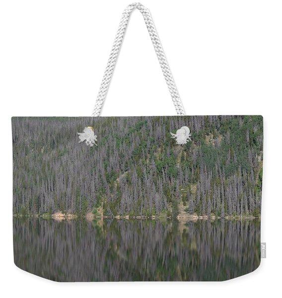Chambers Lake Reflection Hwy 14 Co Weekender Tote Bag