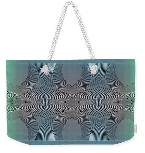Weekender Tote Bag featuring the digital art #061220171 by Visual Artist Frank Bonilla