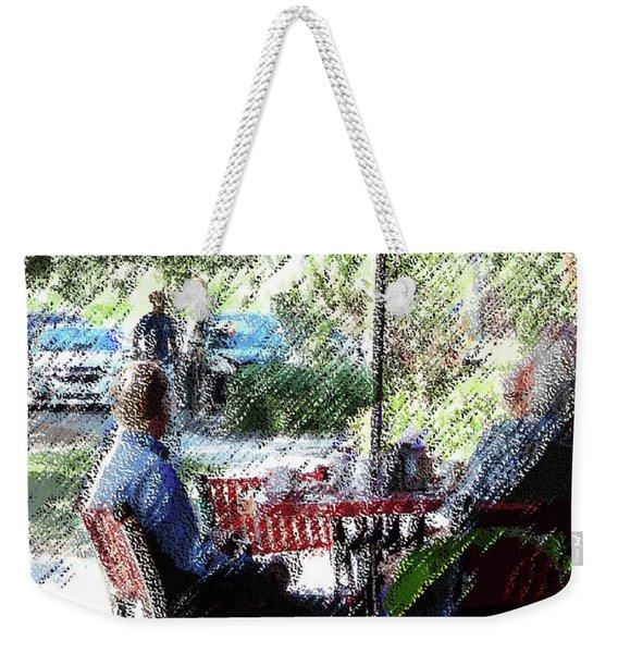 070816 Saturday Morning City Park Weekender Tote Bag