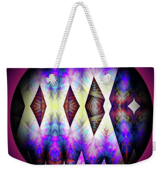 Weekender Tote Bag featuring the digital art 080620172 by Visual Artist Frank Bonilla