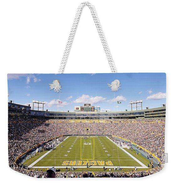 0991 Lambeau Field Weekender Tote Bag