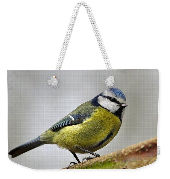 Blue Tit Weekender Tote Bag