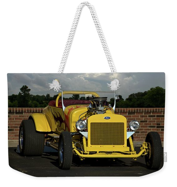 1928 Ford Bucket T Hot Rod Weekender Tote Bag