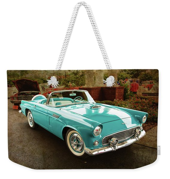1956 Ford Thunderbird 5510.04 Weekender Tote Bag
