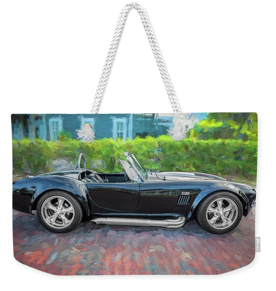 1965 Ford Ac Cobra Painted    Weekender Tote Bag
