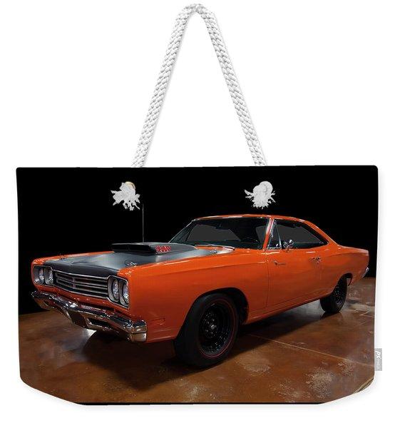 1969 Plymouth Road Runner A12 Weekender Tote Bag