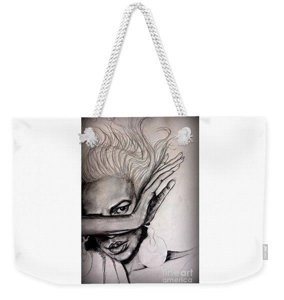 Against The Wind Weekender Tote Bag