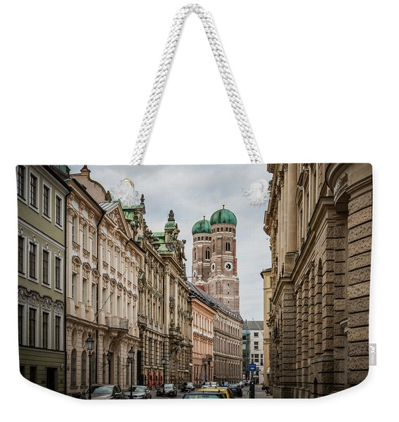 A Beautiful Look At The Frauenkirche Weekender Tote Bag