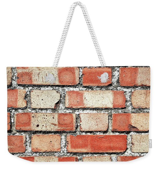 A Brick Wall Weekender Tote Bag
