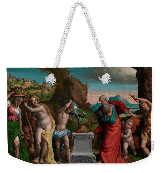 A Pagan Sacrifice Weekender Tote Bag