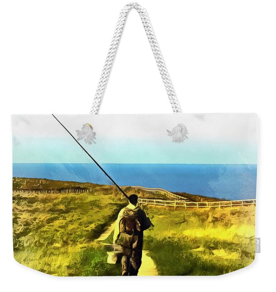 A Plaice To Fish Weekender Tote Bag