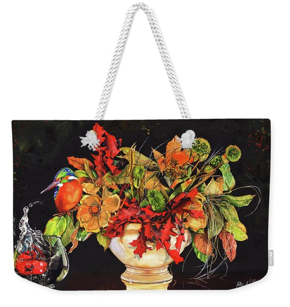 A Splash Of Colour Weekender Tote Bag