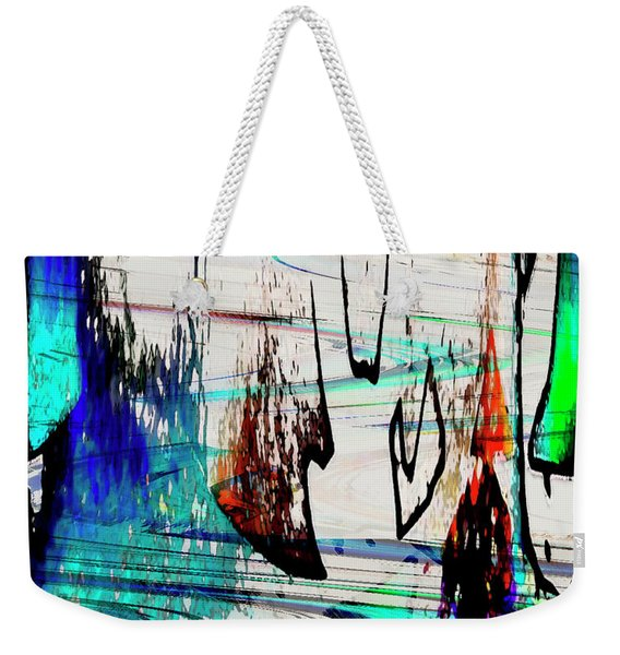 Abstract 1001 Weekender Tote Bag