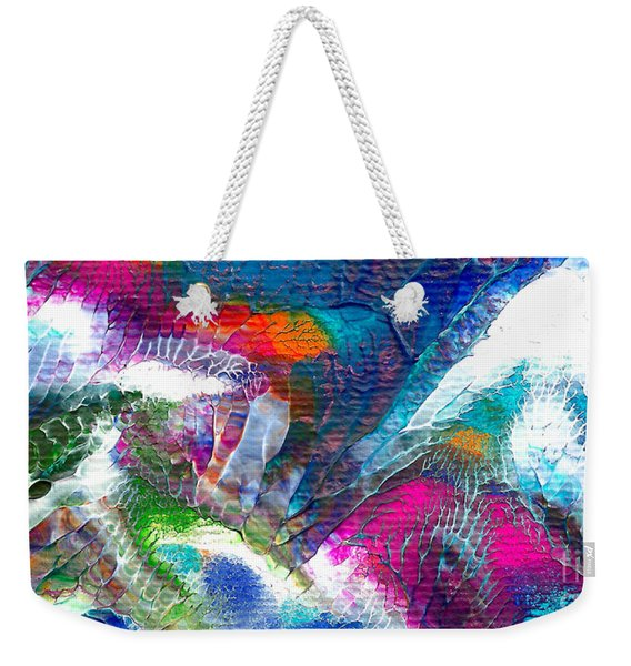 Abstract 10115a Weekender Tote Bag