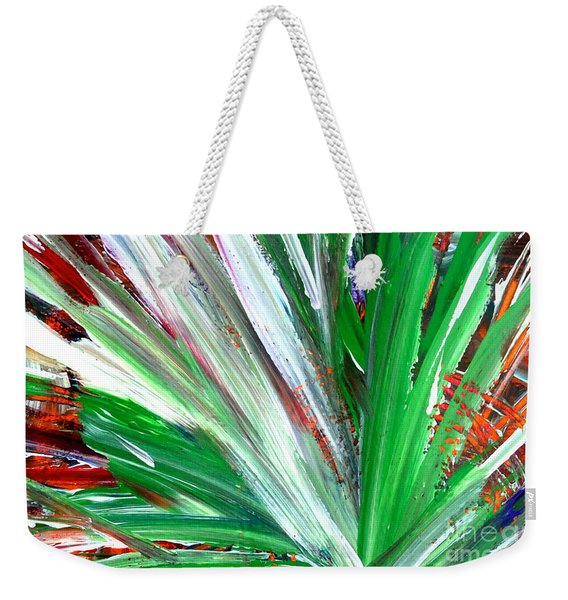 Abstract Explosion Series 92215 Weekender Tote Bag