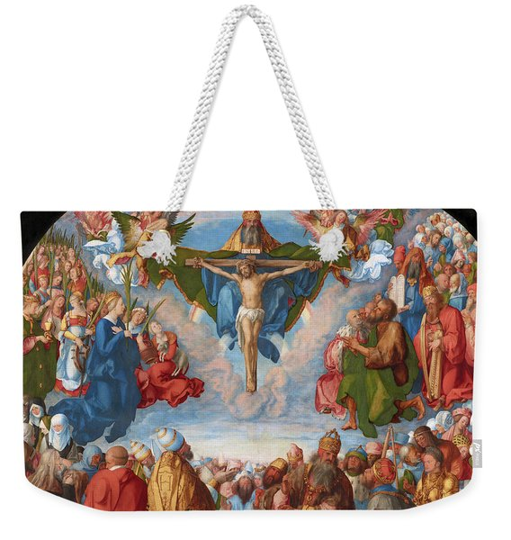 Adoration Of The Trinity  Weekender Tote Bag