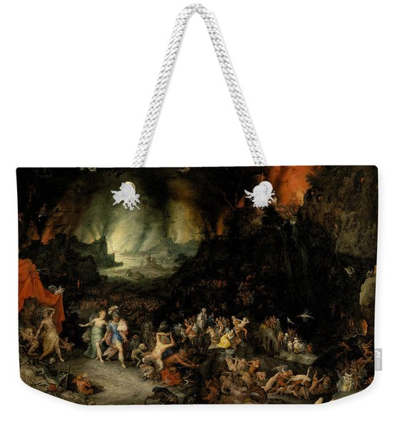 Aeneas And Sibyl In The Underworld Weekender Tote Bag