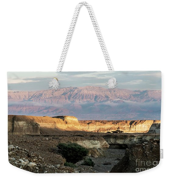 Weekender Tote Bag featuring the photograph After Rain Colors 02 by Arik Baltinester