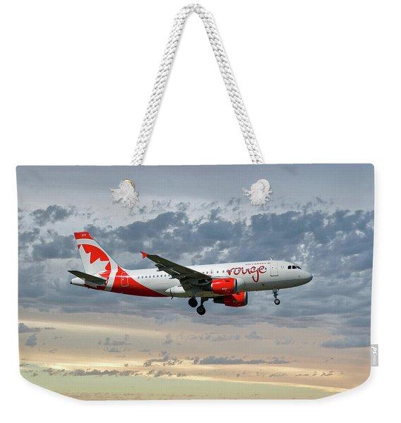Air Canada Rouge Airbus A319-114 Weekender Tote Bag