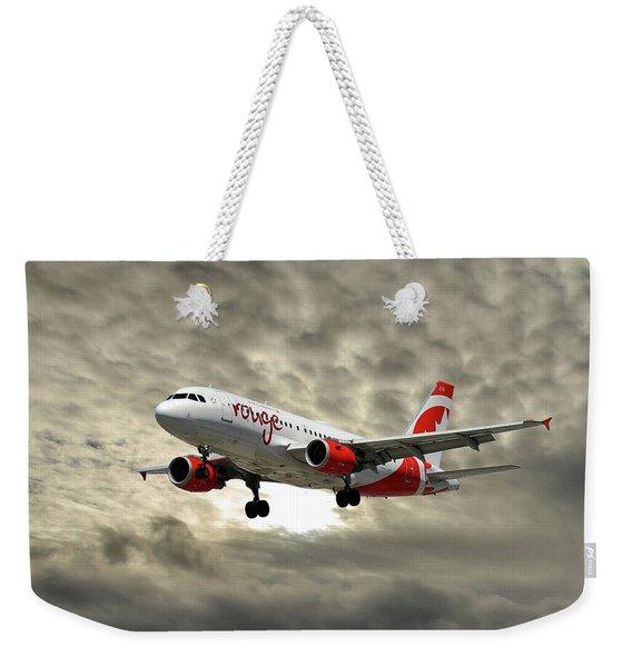 Air Canada Rouge Airbus A319 Weekender Tote Bag