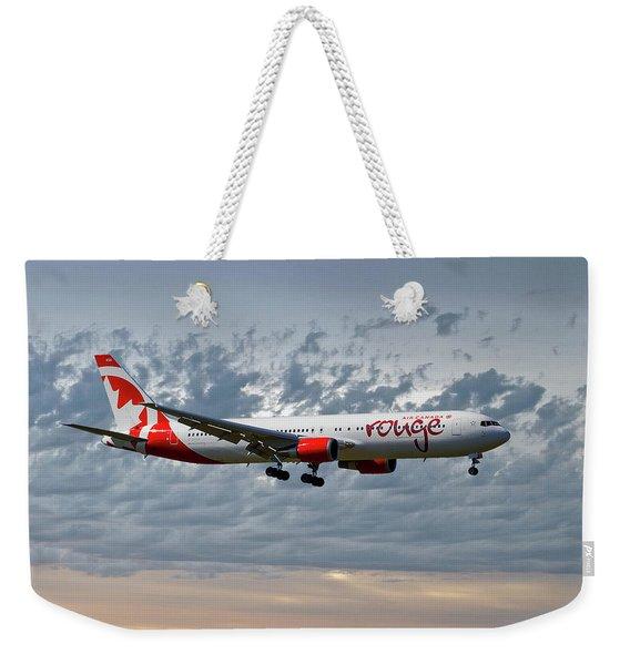 Air Canada Rouge Boeing 767-35h Weekender Tote Bag