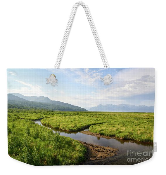 Alaskan Valley Weekender Tote Bag