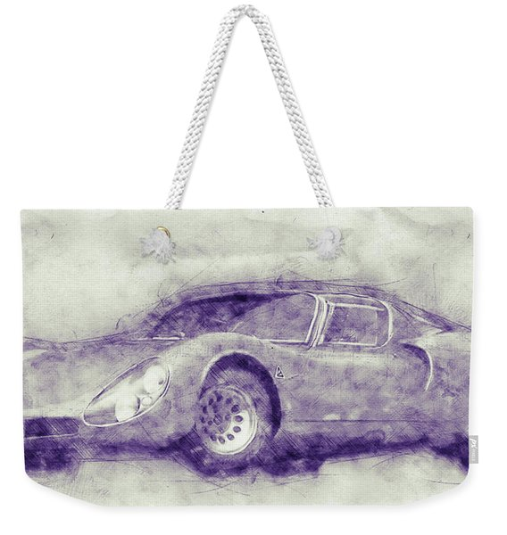 Alfa Romeo 33 Stradale 1 - 1967 - Automotive Art - Car Posters Weekender Tote Bag