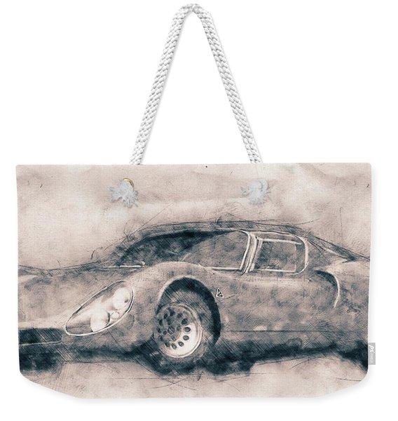Alfa Romeo 33 Stradale - 1967 - Automotive Art - Car Posters Weekender Tote Bag