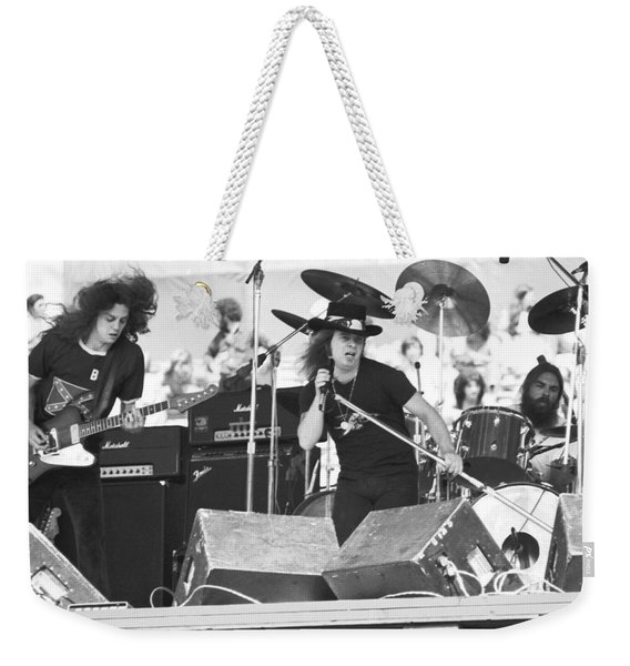 Allen And Ronnie And Artimus Weekender Tote Bag