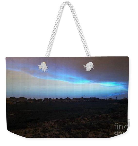Alternate Sunset Blue Weekender Tote Bag