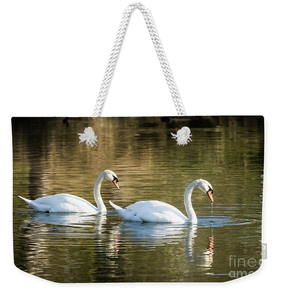 Always Together Wildlife Art By Kaylyn Franks Weekender Tote Bag