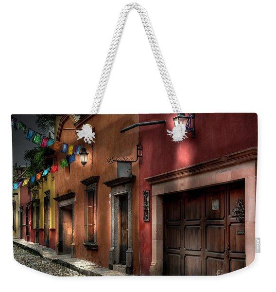 1 A.m. Street Photo Weekender Tote Bag