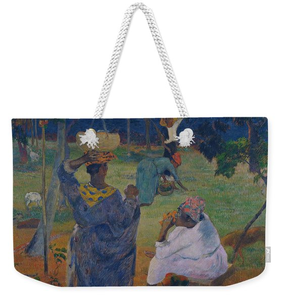 Among The Mangoes At Martinique Weekender Tote Bag
