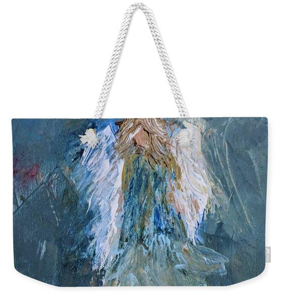 Angel Girl Weekender Tote Bag