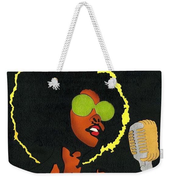 Angela Sings Weekender Tote Bag