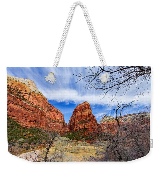 Angels Landing Weekender Tote Bag