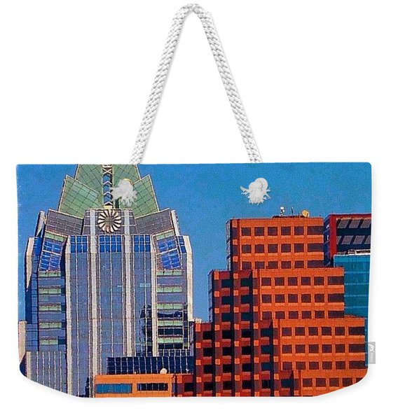 Another #gorgeous #bluesky Day In Weekender Tote Bag