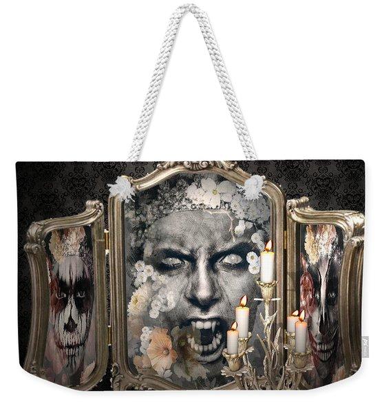 Antique Vampire Paintings Weekender Tote Bag