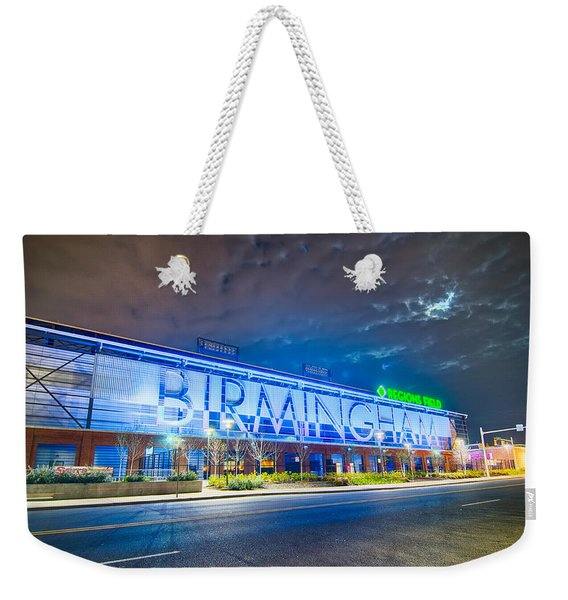 April 2015 - Birmingham Alabama Regions Field Minor League Baseb Weekender Tote Bag
