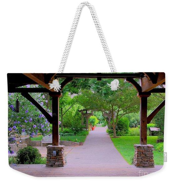 Arboretum Shelter And Walk Weekender Tote Bag