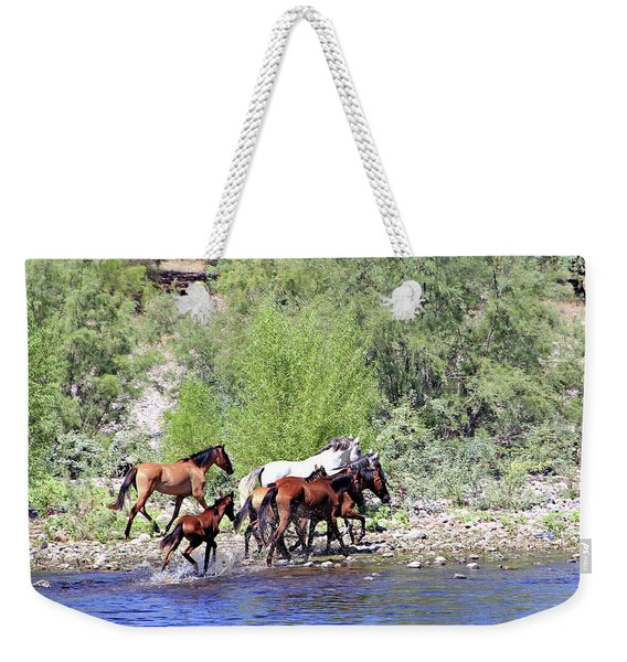 Arizona Wild Horses Weekender Tote Bag