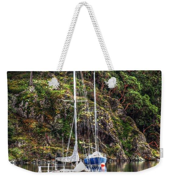 At Anchor Weekender Tote Bag